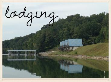 lodging at holiday landing